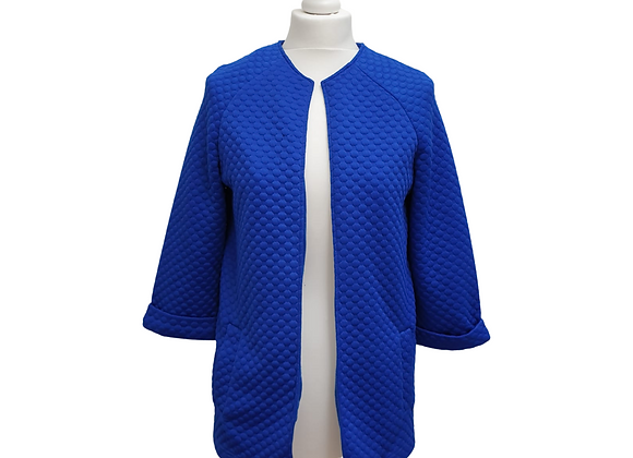 Definitions blue open jacket. Uk 10