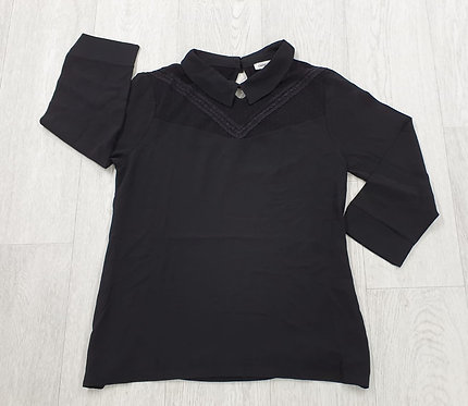 Cache Cache black blouse