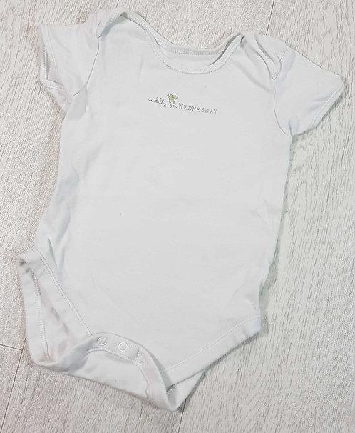 White vest. 18-24m