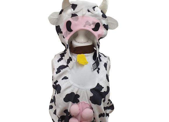 Cow fancy dress costume. 3-4yrs