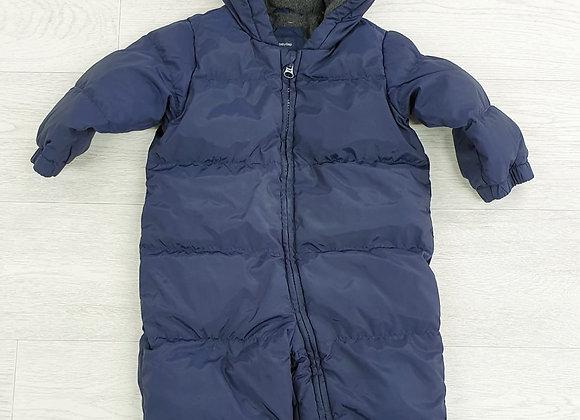 Baby Gap navy snowsuit. 12-18m