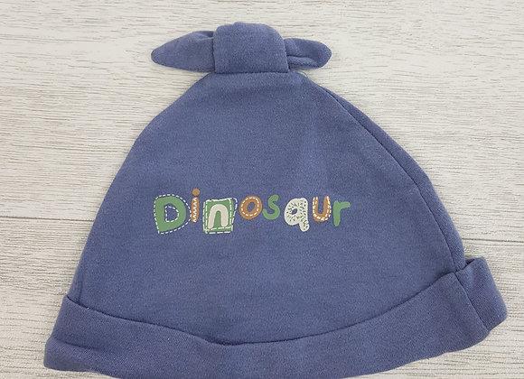 Cherokee baby navy dinosaur hat size 9-12 months