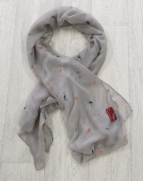 ◇Buena Senal S.L flamingo scarf. NWT