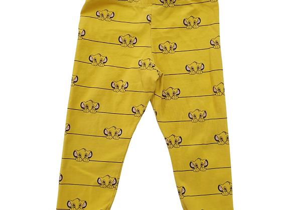 Disney's Lion King leggings. 9-12m