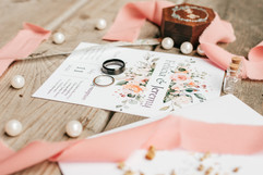 flat lay image for painter wedding