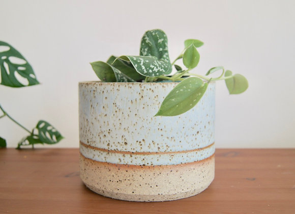 Frosted Mint Planter - Large