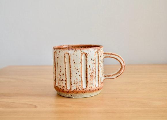 Horizon Mug - carved
