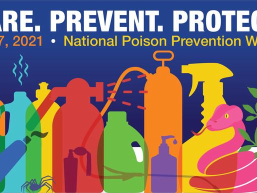 Doing My Part in Raising Awareness of Poison Prevention
