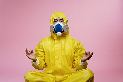 person-in-yellow-protective-suit-doing-a