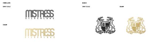 Mistress Silverlake | Typography | Wordmark | Coat of Arms