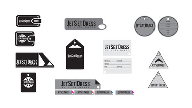 JetSet Dress | Hangtag | Explorations