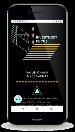 Pangea Blockchain Fund   Mobile   Investment Focus