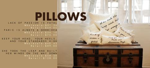 Housewares | Catalog | Pillows