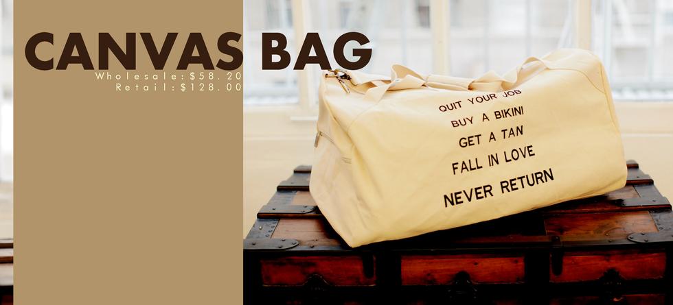 Housewares | Catalog | Canvas Bag