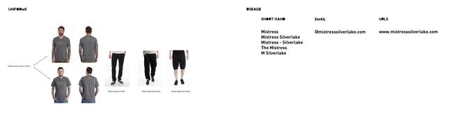 Mistress Silverlake | Uniforms