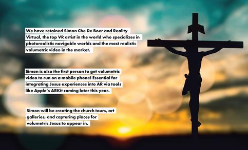 In His Presence VR | Sales Deck | 15