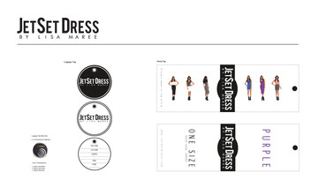 JetSet Dress | Hangtag | Finals