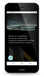 Pangea Blockchain Fund | Mobile | Investment Philosophy