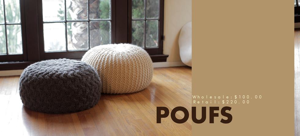 Housewares | Catalog | Poufs