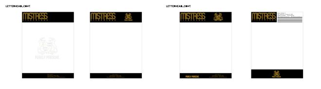 Mistress Silverlake | Notepads