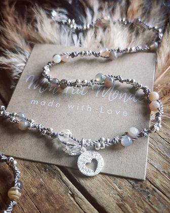 Bracelet Agate 3 en 1