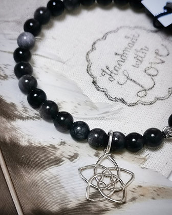 Obsidienne argentée