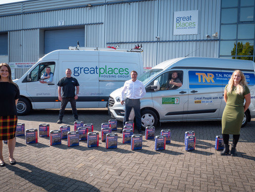 Toolkits donation provide a boost