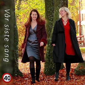 """CD-cover """"Vår siste sang"""" 40"""