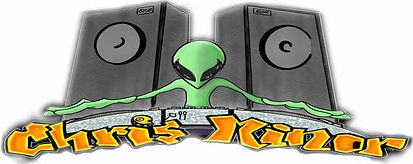 chris minor alien dj logo vegas entertainment school dances