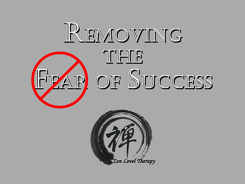 Removing the Fear of Success