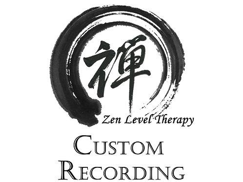 Custom MP3 Hypnosis File(s)