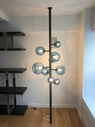 Blue Sphere's Floor Lamp