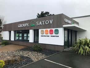 Enseigne Groupe SATOV x JBB Conseil x Plexico - Enseigne Communication
