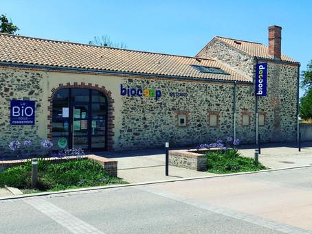 Enseigne et signalétique Biocoop x Plexico - Enseigne Communication