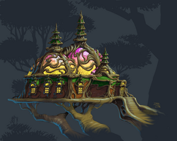 Wood Elf Palace