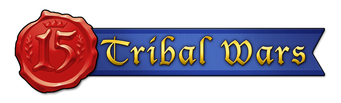 Tribal Wars 15 Year Anniversary Logo