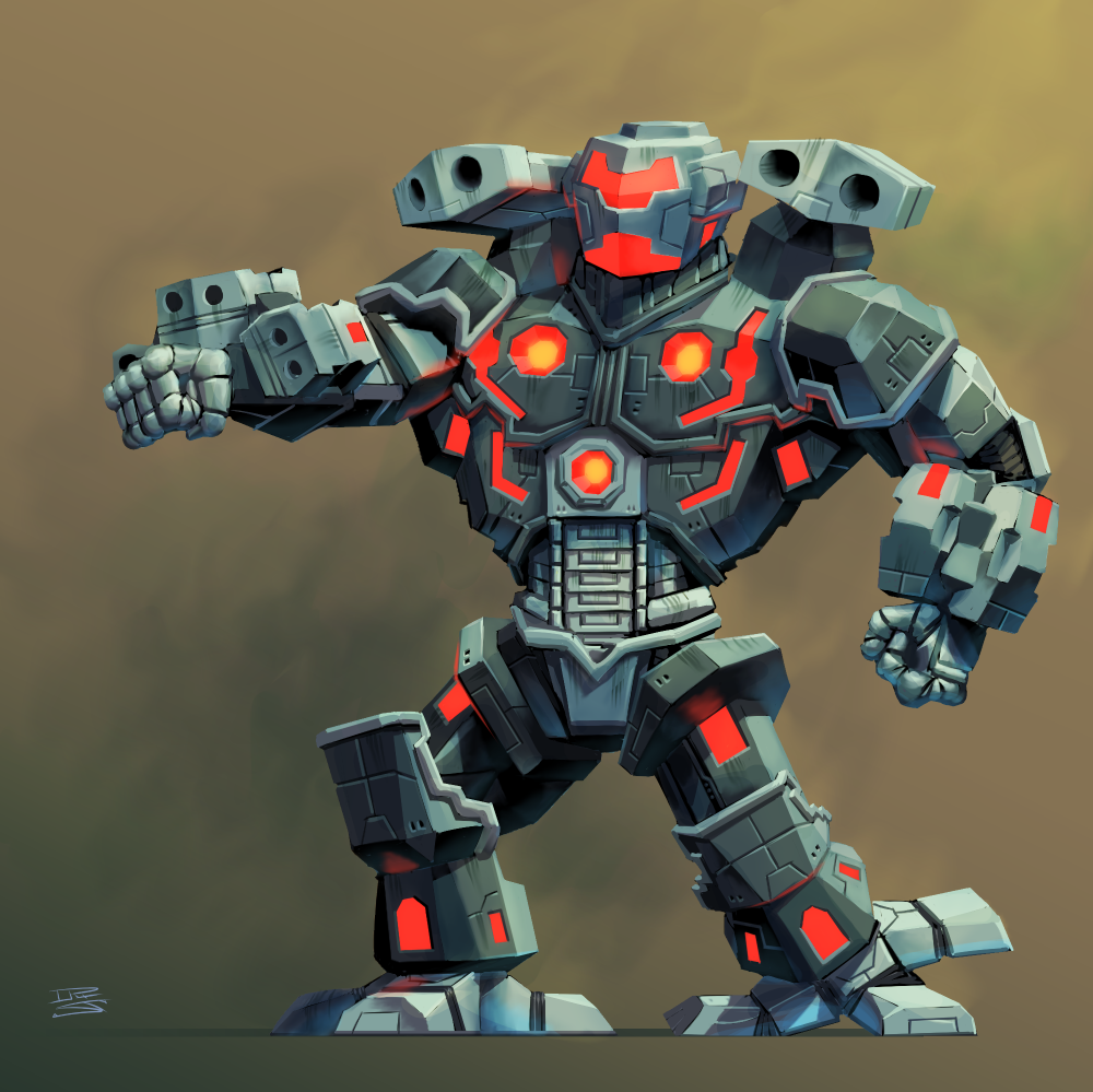 Mech from an Unannounced Project