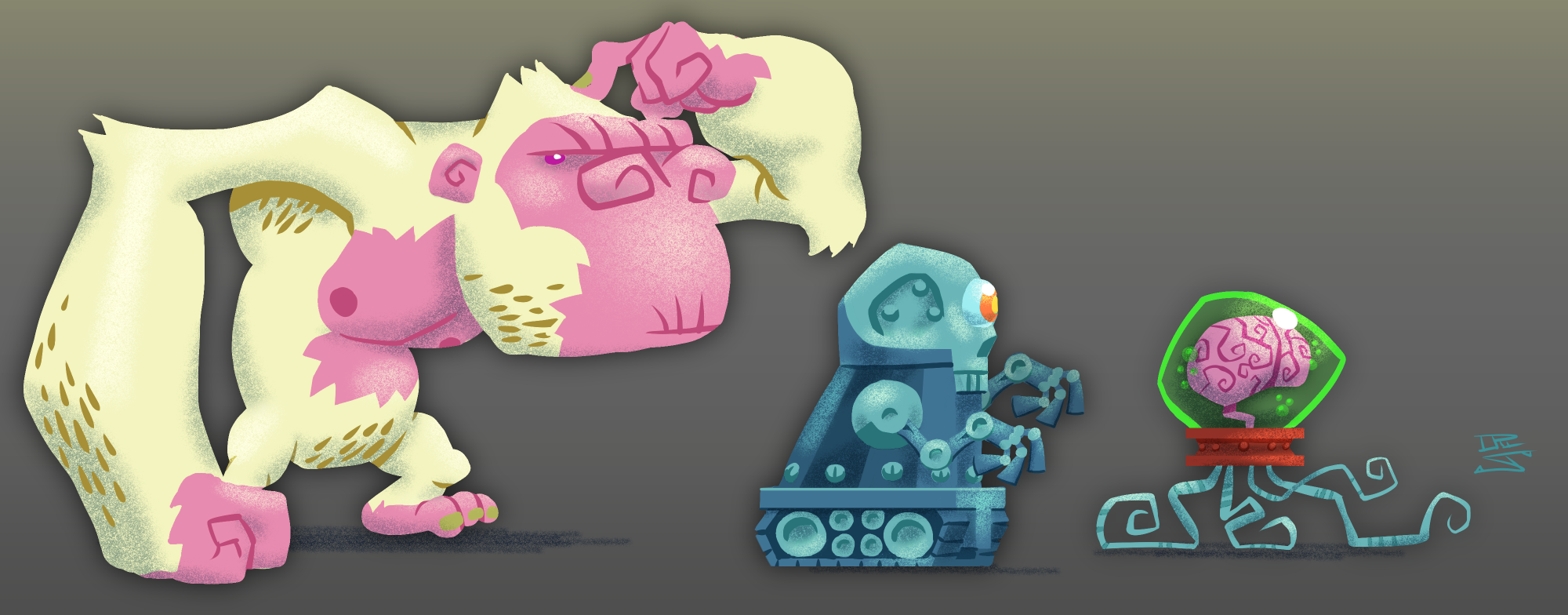 Monsters for Unannounced Project