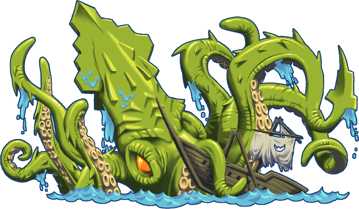 The Kraken from Swipe the Gold