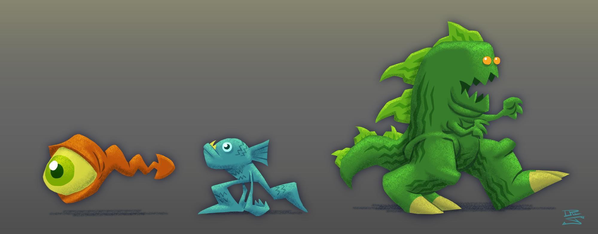 Cartoon Monster Concepts