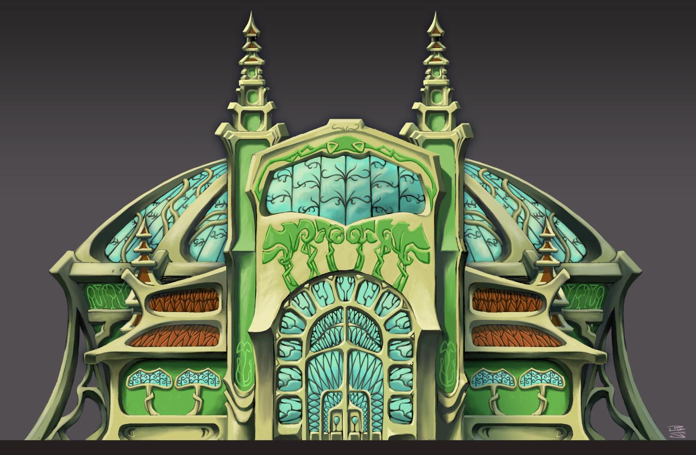 elf building small