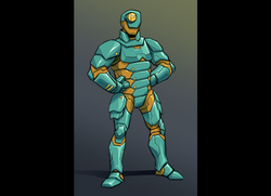 armor suit small