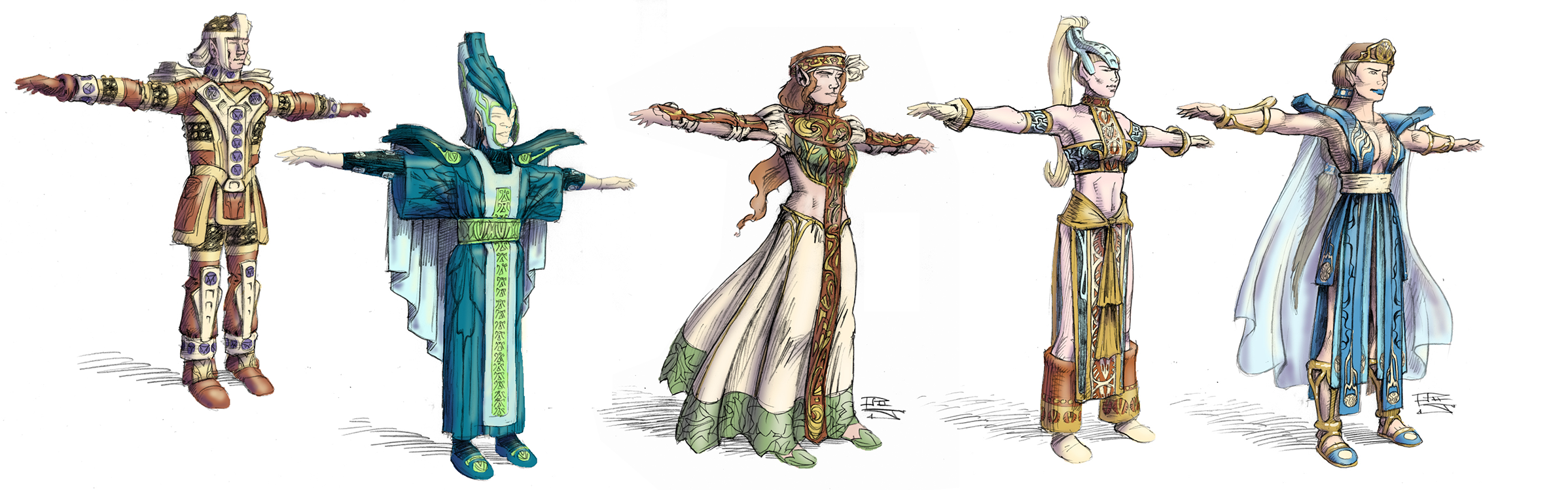 Everquest Elf Clothes