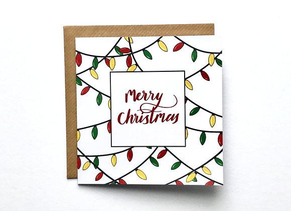 Christmas Cards -Christmas Lights