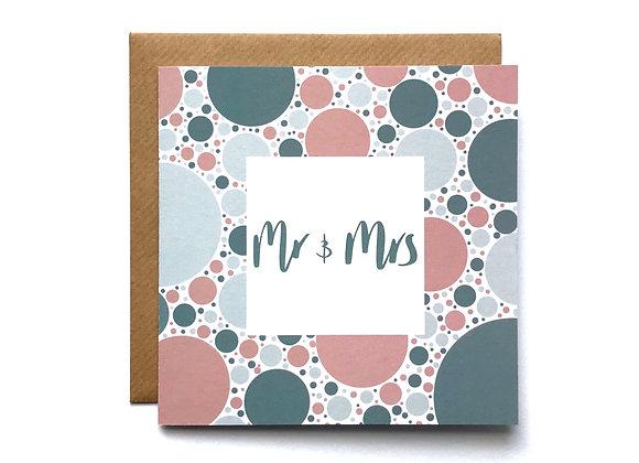 Mr & Mrs Card - Grey