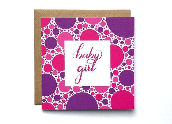 Baby Boy Card - Pink