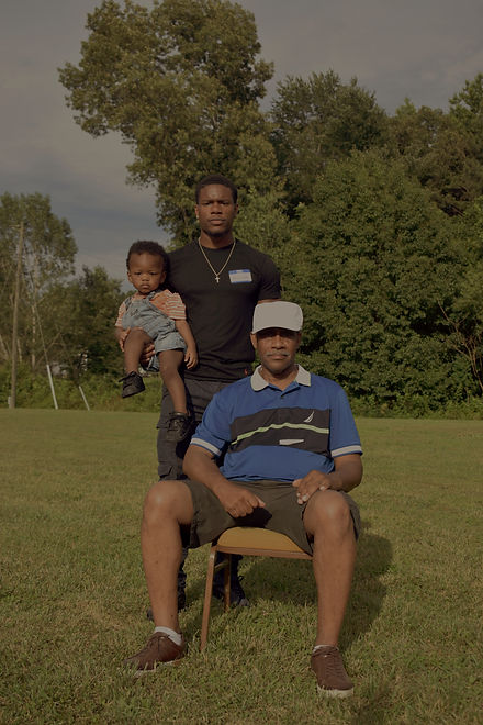 Roman, Rashard, and Dad, 2019