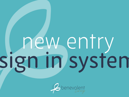 New Entry Sign in Software
