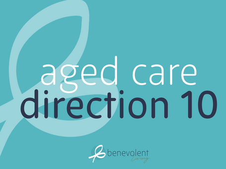 Aged Care Direction 10