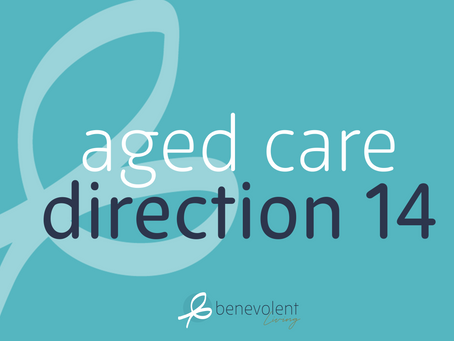 Aged Care Direction 14